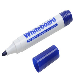 金万年(Genvana)G-600 简易白板笔 蓝色(10支装) *5件