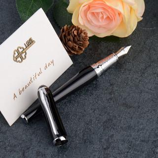 公爵(DUKE)丽莎系列 夜空黑/钢笔/铱金笔/自用/送礼/礼盒套装