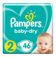 Pampers 帮宝适 婴儿纸尿裤 2号 46片