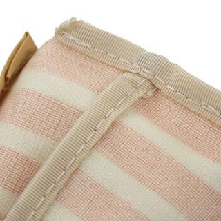 KOKUYO 国誉 F-VBF101YR Repete 笔袋 黄白条纹