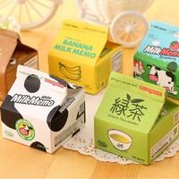 qianyue 乾越 抽取式便签 香蕉牛奶