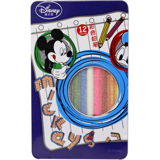 TRUECOLOR 真彩 D232912 迪士尼彩色铅笔 12色/盒 蓝色