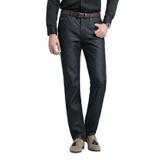 pierre cardin 皮尔·卡丹 203385-0808 男士加绒牛仔裤