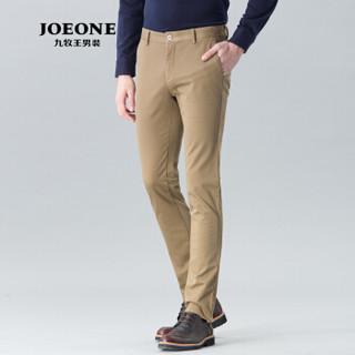 JOEONE 九牧王 JB165041T98 男士商务休闲裤