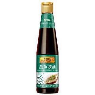 李锦记 蒸鱼豉油 功能酱油 清蒸调味炒菜调料 410ml *8件