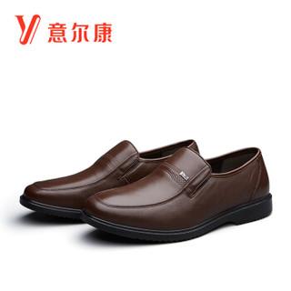 YEARCON 意尔康 6541ZE97689W 男士休闲套脚皮鞋