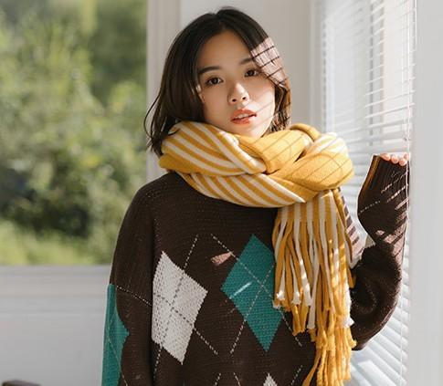 心家 1818 女士毛线围巾