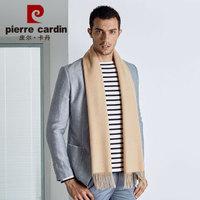 pierre cardin 皮尔·卡丹 B22TM5316 羊毛纯色围巾 黄驼