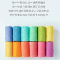 17日:大朴(DAPU)毛巾 A类新疆阿瓦提长绒棉毛 蓝楹紫 34*76cm *5件