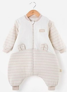 OUYUN 欧孕 婴儿彩棉睡袋 双层