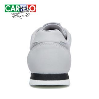 CARTELO KDLK20 男士网面运动鞋 灰色 39