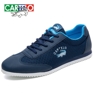 CARTELO KDLK20 男士网面运动鞋 蓝色 44