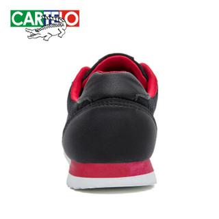 CARTELO KDLK20 男士网面运动鞋 黑色 44
