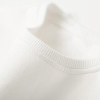 Markless WYA7428MF5 男士纯棉圆领长袖卫衣 白色-北欧鹿 175/L