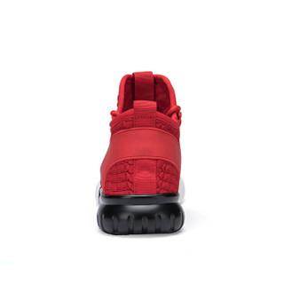 Semir 森马 117319615 男士飞织跑步鞋 红色 38