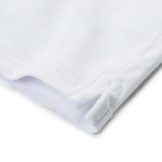 Markless TXA7662M 男士圆领短袖T恤 白色 XXL