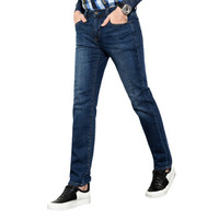pierre cardin 皮尔·卡丹 684-3 男士修身直筒牛仔裤