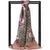 GUCCI 古驰 Blooms系列女士印花莫代尔真丝围巾 披肩 1602元