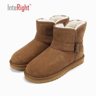 InteRight 3351 女士低筒雪地靴