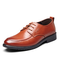 YEARCON 意尔康 8441ZA97039W 男士系带绅士皮鞋