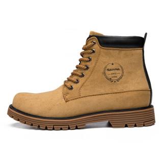 Semir 森马 617420917 男士加绒马丁靴