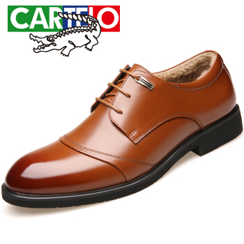 CARTELO 1513 男士正装加棉皮鞋