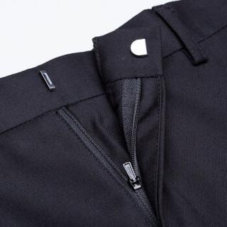 G2000 商务休闲西裤男修身抗皱黑色西服裤子男 00051121