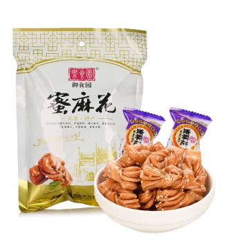 yushiyuan 御食园 蜜麻花 (袋装、280g)
