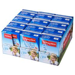 奥地利进口 萨尔茨堡(SalzburgMilch) 全脂纯牛奶 200ml*12 整箱装 3.5%乳脂肪含量 *4件