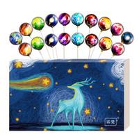 诺梵 创意零食星空糖果棒棒糖礼盒装 告白礼物送女友10支装 *2件