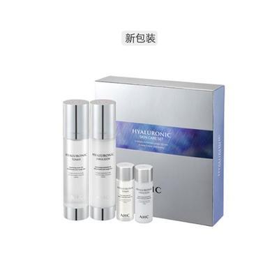 AHC玻尿酸神仙水 水乳套盒(水100ml+乳100ml+水乳30ml*2)