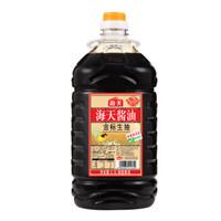海天 金标生抽酱油 4.9L *2件