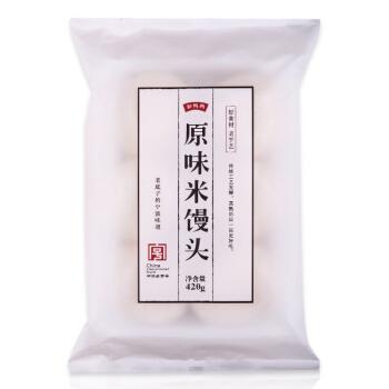 缸鸭狗  宁波特产 原味米馒头 350g