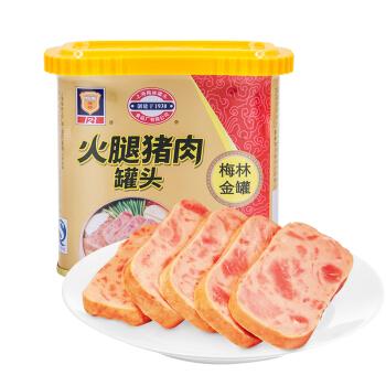 MALING 梅林 金罐 火腿猪肉罐头 340g