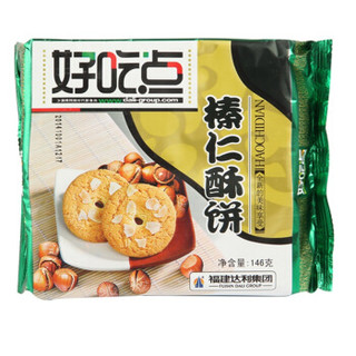 达利园 好吃点榛仁酥 (袋装、146g)