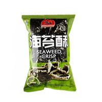 韩国进口 九日(JIUR)清爽芥末味 海苔酥 休闲零食30g/袋 *16件
