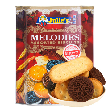 Julie's 茱蒂丝 美旋律什锦饼干 658.8g