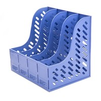 M&G 晨光 ADMN4007 四联文件框 单个装 蓝色