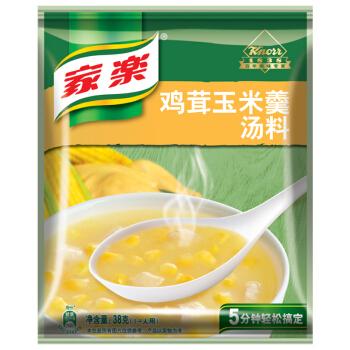 家乐 鸡茸玉米羹汤料 38g *2件