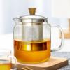 佳佰 玻璃泡茶壶煮茶器 700ml