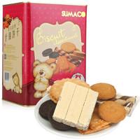 SUMACO 素玛哥 杂锦饼干 小熊版 (盒装、688g)
