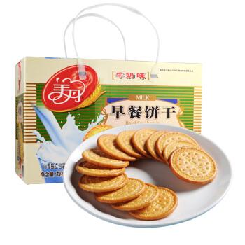 美丹 早餐饼干 牛奶味 礼盒装 1000g