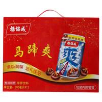 杨协成 马蹄爽 荸荠果汁果肉饮料 (箱装、300ml*12听)