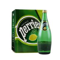 Perrier 巴黎水 气泡水 柠檬味 750ml*4瓶