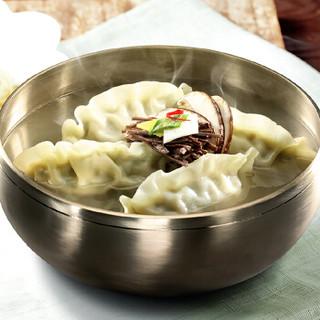 必品阁(bibigo)玉米猪肉王水饺 600g (24只 饺子 早餐食材 儿童食品)