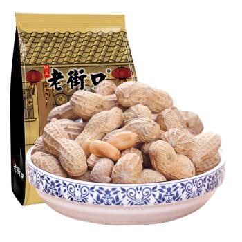 LAO JIE KOU 老街口 蒜香花生 (袋装、420g)
