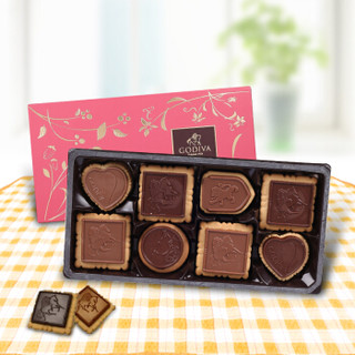 GODIVA 歌帝梵 臻选巧克力饼干礼盒