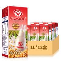 VAMINO 哇米诺 原味豆奶饮料 1L*12瓶