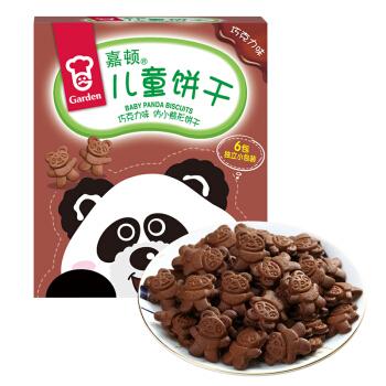Garden 嘉顿 仿小熊形饼干 (盒装、巧克力味、168g)