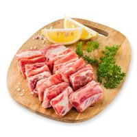 高金庄园黑猪 猪切块精肋排400g/袋 排骨 林间散养谷饲黑猪 冷冻食品